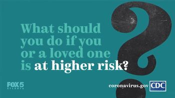Centers for Disease Control and Prevention TV Spot, 'COVID-19: Protect Yourself: High Risk'
