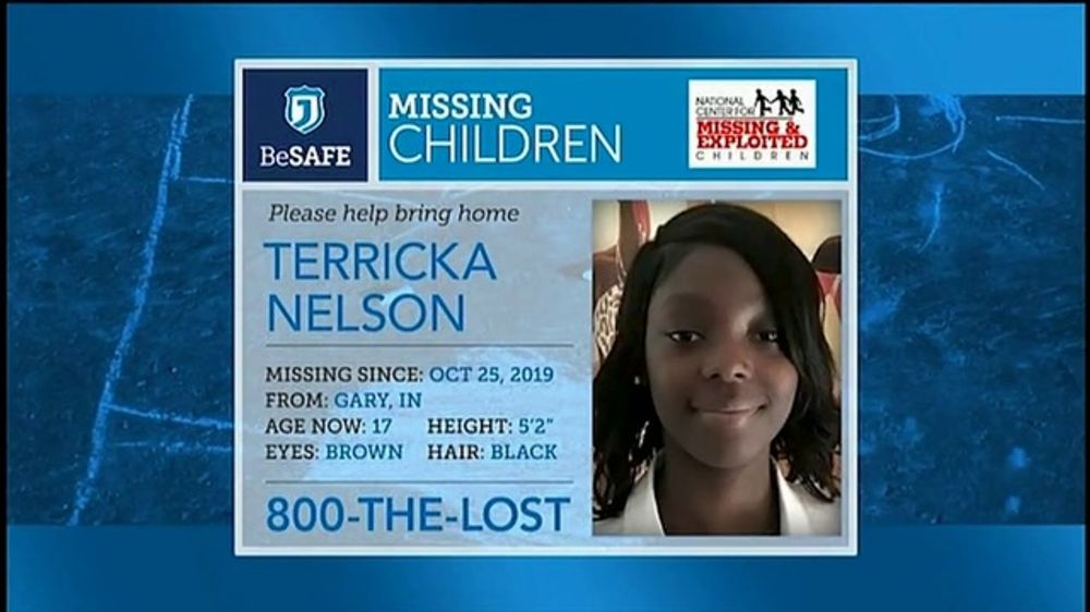 National Center for Missing & Exploited Children TV Commercial, 'Terricka Nelson'