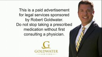 Goldwater Law Firm TV Spot, 'Opioids'