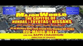 Major World TV Spot, 'Over 3,000 Cars' - Thumbnail 9