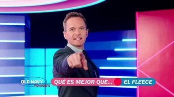 Old Navy TV Spot, '¿Qué es mejor que fleece?: 40 por ciento' con Neil Patrick Harris [Spanish] - 51 commercial airings