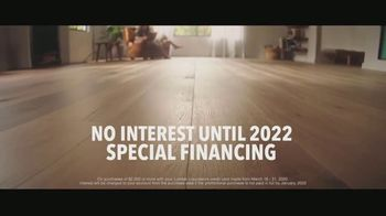 Lumber Liquidators TV Spot, 'Bellawood Distressed Oak Floors: No Interest Financing' Song by Electric Banana - Thumbnail 3