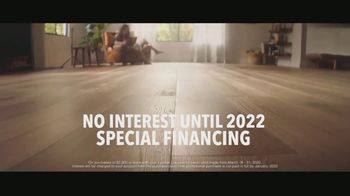 Lumber Liquidators TV Spot, 'Bellawood Distressed Oak Floors: No Interest Financing' Song by Electric Banana - Thumbnail 4