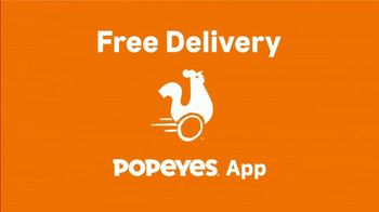 Popeyes TV Spot, 'Favorites: Free Delivery' - Thumbnail 2