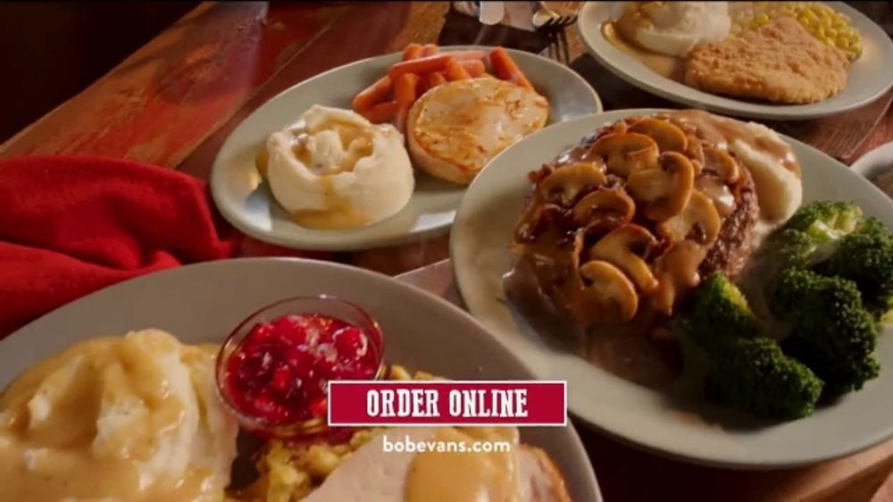 Bob Evans Grocery TV Commercial, 'Carry Out or Free Delivery'