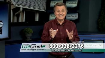 LeafGuard of Seattle Winter Half Off Sale TV Spot, 'Water and Moisture' - 61 commercial airings