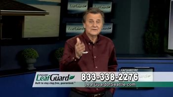 LeafGuard of Seattle Winter Half Off Sale TV Spot, 'Water and Moisture' - Thumbnail 4