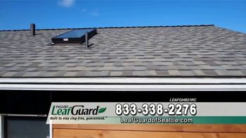 LeafGuard of Seattle Winter Half Off Sale TV Spot, 'Water and Moisture' - Thumbnail 5