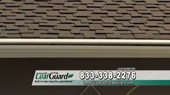 LeafGuard of Seattle Winter Half Off Sale TV Spot, 'Water and Moisture' - Thumbnail 6