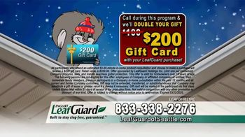 LeafGuard of Seattle Winter Half Off Sale TV Spot, 'Water and Moisture' - Thumbnail 9