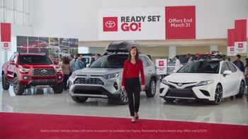 Toyota Ready Set Go! TV Spot, 'Imagine Yourself: Snow' [T1] - 1 commercial airings