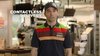 Burger King TV Spot, 'Contactless: Free Delivery' - Thumbnail 6