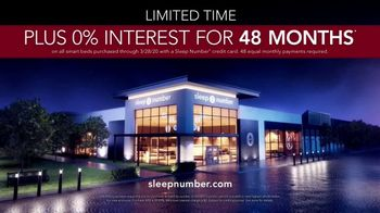 Sleep Number 360 Smart Bed TV Spot, 'Better Sleep: Zero Percent Interest' - Thumbnail 8