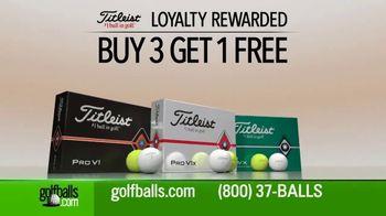 Golfballs.com TV Spot, 'Titleist: Buy Three Dozen, Get One Free' - Thumbnail 1