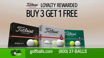 Golfballs.com TV Spot, 'Titleist: Buy Three Dozen, Get One Free' - Thumbnail 2
