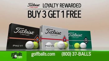 Golfballs.com TV Spot, 'Titleist: Buy Three Dozen, Get One Free' - Thumbnail 3