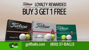 Golfballs.com TV Spot, 'Titleist: Buy Three Dozen, Get One Free' - Thumbnail 4