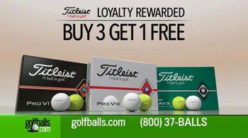Golfballs.com TV Spot, 'Titleist: Buy Three Dozen, Get One Free' - Thumbnail 5