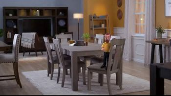 Bob's Discount Furniture TV Spot, 'Summit Seven Piece Dining Set' - Thumbnail 1