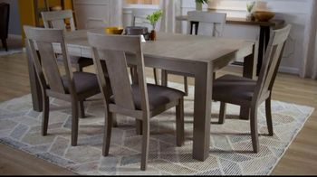 Bob's Discount Furniture TV Spot, 'Summit Seven Piece Dining Set' - Thumbnail 4