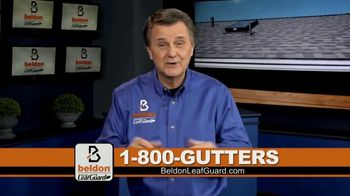 Beldon LeafGuard $99 Installation Sale TV Spot, '15 Years in a Row'