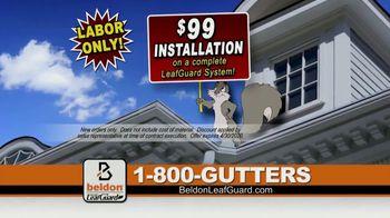 Beldon LeafGuard $99 Installation Sale TV Spot, '15 Years in a Row' - Thumbnail 6