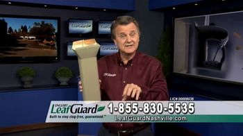 LeafGuard Winter Half Off Sale TV Spot, '32 Inches of Rainfall an Hour'