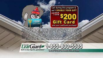 LeafGuard Winter Half Off Sale TV Spot, '32 Inches of Rainfall an Hour' - Thumbnail 7
