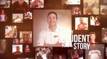 Big Ten Conference TV Spot, 'Faces of the Big Ten: Jonathan Moran'