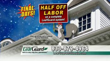 LeafGuard of St. Louis Winter Half Off Sale TV Spot, 'Final Days: What's in Your Gutters'