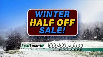 LeafGuard of Oregon Winter Half Off Sale TV Spot, 'Final Days: Added Beauty' - Thumbnail 9