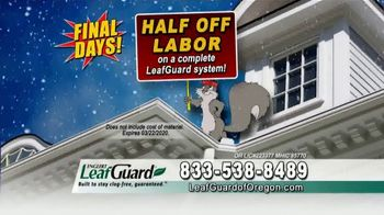 LeafGuard of Oregon Winter Half Off Sale TV Spot, 'Final Days: Added Beauty' - Thumbnail 6