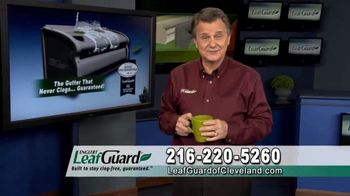 LeafGuard of Cleveland Winter Half Off Sale TV Spot, 'Final Days: Early Bird Special'