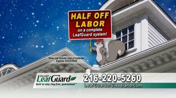 LeafGuard of Cleveland Winter Half Off Sale TV Spot, 'Final Days: Early Bird Special' - Thumbnail 5