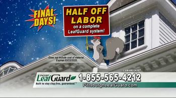 LeafGuard of Pittsburgh Winter Half Off Sale TV Spot, 'Final Days: Bare Tree Branches' - Thumbnail 6