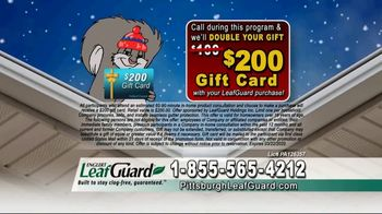 LeafGuard of Pittsburgh Winter Half Off Sale TV Spot, 'Final Days: Bare Tree Branches' - Thumbnail 8