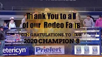 The American Rodeo TV Spot, 'Thank You: 2020 Champions' - Thumbnail 5