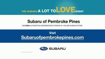 Subaru A Lot to Love Event TV Spot, 'Easy Commute' [T2] - Thumbnail 9