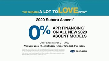 Subaru A Lot to Love Event TV Spot, 'A Big Day Out' [T2] - Thumbnail 10