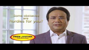 Prem Jyotish TV Spot, 'Obstacles & Hurdles: Inside'
