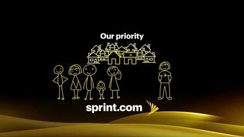 Sprint TV Spot, \'Our Priority: Safety\'