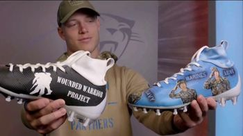 USAA TV Spot, 'Salute to Service: Wounded Warrior Project' Featuring Christian McCaffrey - 1 commercial airings