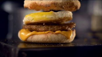 McDonald's Sausage McMuffin with Egg TV Spot, 'Goes With the Flow'