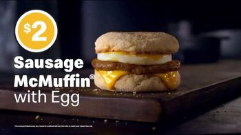 McDonald's Sausage McMuffin with Egg TV Spot, 'Goes With the Flow' - Thumbnail 5