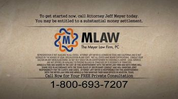 Meyer Law Firm TV Spot, 'Ovarian Cancer and Baby Powder'