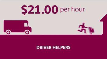 UPS TV Spot, 'Hiring: Seasonal Driver Helper Jobs' - Thumbnail 4