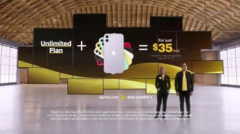 Sprint TV Spot, 'Unlimited + iPhone 11 for $35 a Month per Line'