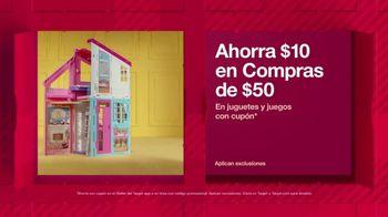 Target HoliDeals TV Spot, 'Juguetes y juegos' canción de Danna Paola [Spanish]