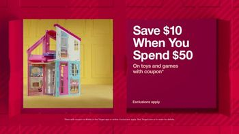 Target TV Spot, 'HoliDeals: Toys & Games' - Thumbnail 4
