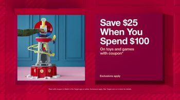 Target TV Spot, 'HoliDeals: Toys & Games' - Thumbnail 5